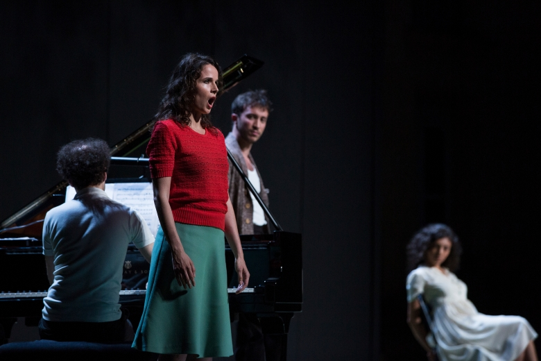 Au plus fort de l'orage - Musical performance based on the correspondence of Igor Stravinski and Ernest Ansermet staged by Matthieu Cruciani. 17 June 2017 in Hôtel Maynier d'Oppède, Aix-en-Provence
